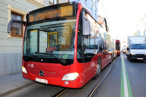 Bus der Innsbrucker Verkehrsbetriebe IVB
