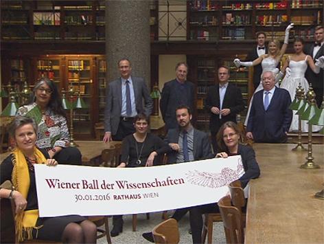 Pressekonferenz der Ball der Wissenschaften