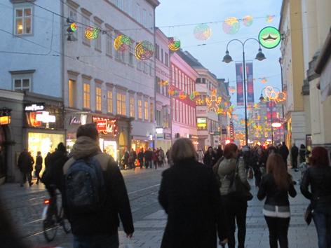 Landstraße Linz, Weihnachtseinkauf