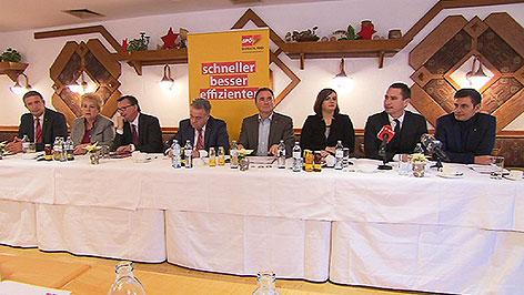 Das Team der SPÖ Burgenland