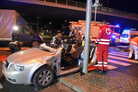 Schwerer Verkehrsunfall in Innsbruck