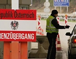 Grenzübergang Kontrolle