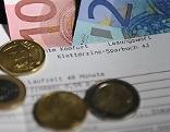 2016 Sparbuch Bankkonto Banknoten