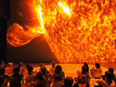 Deep Space, Sonnenaktivität
