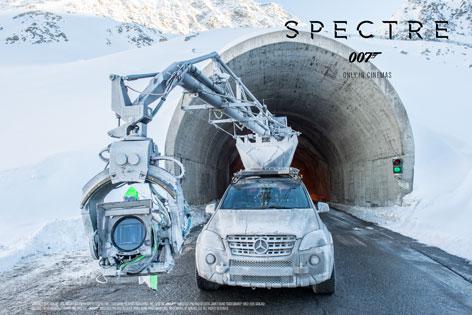 "Aus dem Bilderset des TVB Sölden ""Spectre – Behind the scenes"""