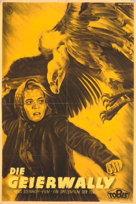 """Plakat zum Film """"Die Geierwally"""""""