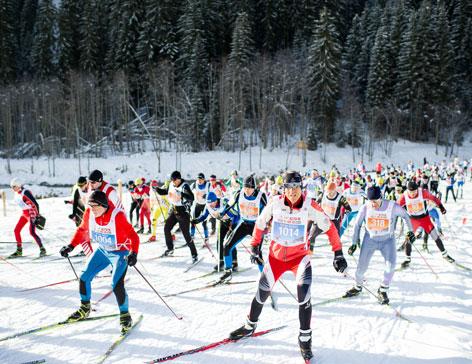 Start zum 41. Dolomitenlauf 2015