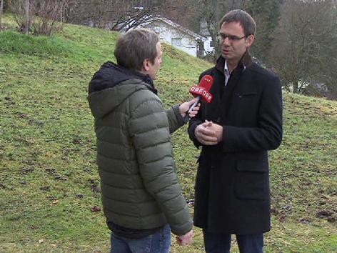 Wallner im Interview mit Rein
