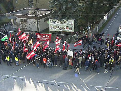 Demonstrationen Sonntag