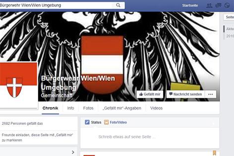 """Über Facebook schließen sich derzeit in Wien Personen zusammen, um gemeinsam eine Bürgerwehr aufzustellen. Die Polizei hält das für """"nicht notwendig""""."""