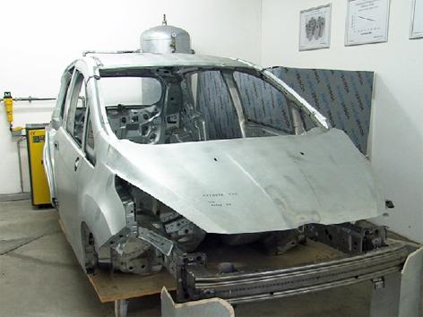 Forschung Auto Karosserie