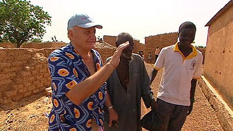 Franz Grandits in Burkina Faso