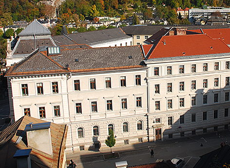 Landesgericht Salzburg Justiz Gericht Justizanstalt Rudolfsplatz