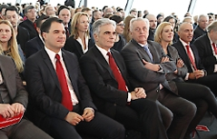 SPÖ-Landesparteitag Schickhofer Faymann