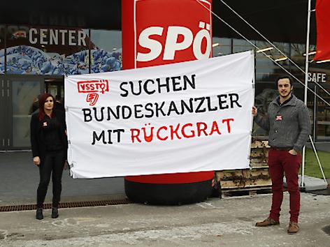 Kundgebung Sozialistische Jugend