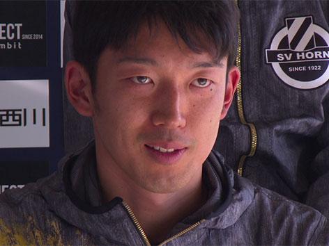 Tormann Gonda aus Japan beim SV Horn