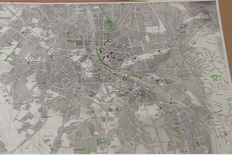 Straßenkarte