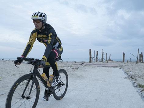 Extermradfahrer Michael Strasser