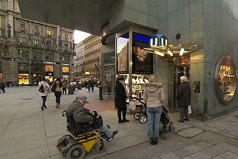 Lift am Stephansplatz