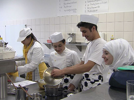 Flüchtlinge Jugendliche Schule