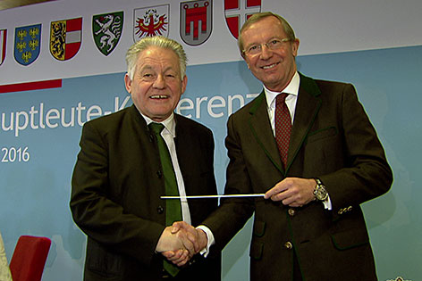 Josef Pühringer und Wilfried Haslauer