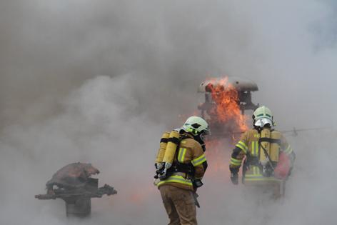 Brandeinsatz bei Gasthaus