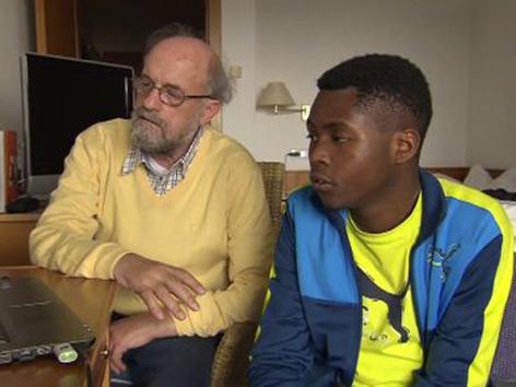 Theo Kelz Tansania Godfrey Beinprothese