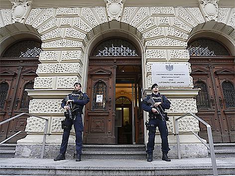 Dschihadisten-Prozess in Graz