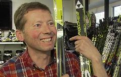 Rudolf Auer Sporthändler Skilanglauf Faistenau