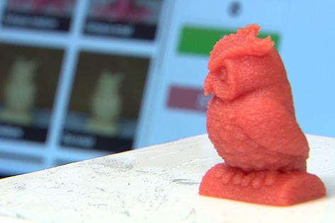 Essen aus dem 3D-Drucker