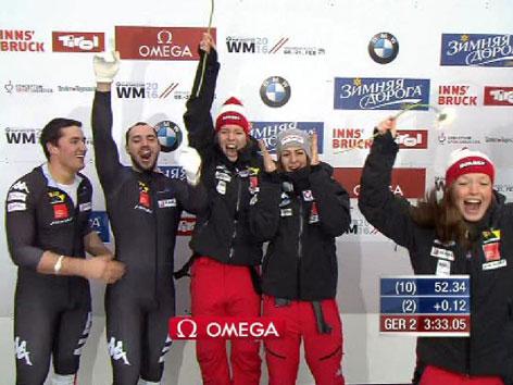 Bronzemedaille bei der Bob/Skeleton-WM