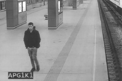 Fotos des Verdächtigen