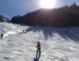 Skifahren, Winter, Sonne