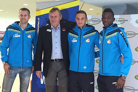 Pressekonferenz SKN Sankt Pölten