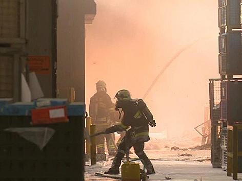 Großbrand Altenmarkt