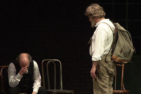"""In der Löwengrube"" Stadttheater Mödling Felix Mitterer"