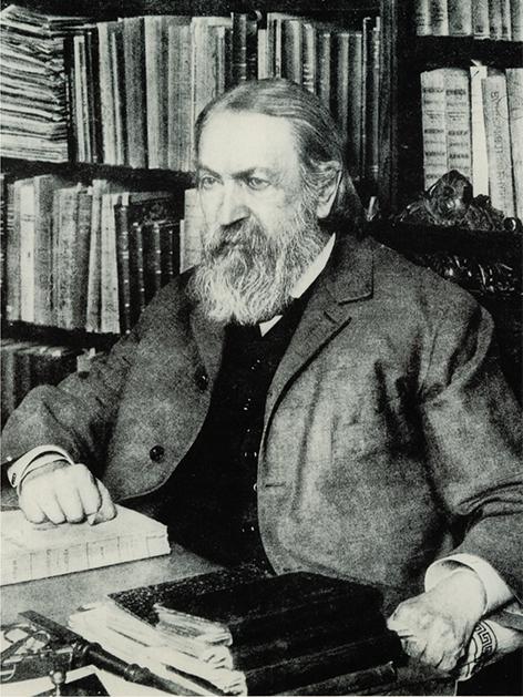 Ernst Mach im Jahr 1905