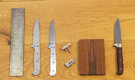 Messermacher Messer Stahl Handwerk Kurs