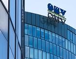 OMV-Logo auf der Konzernzentrale