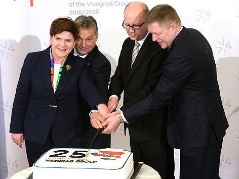 Višjegrajska skupina vrh Praga opozorilo EU