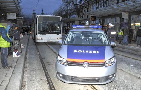 Busunfall Innsbruck