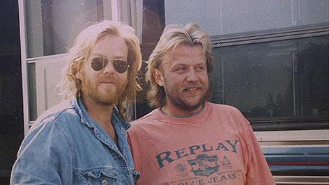 Kiefer Sutherland und Rudi Hofer
