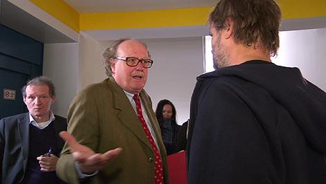 Alfons Mensdorff-Pouilly und Martin Balluch