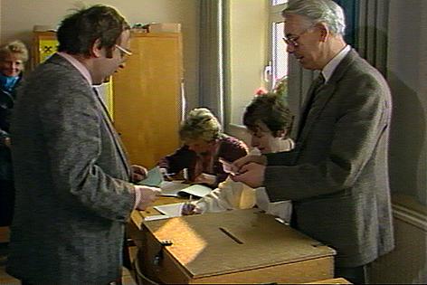 Volksbefragung am 1. März 1986