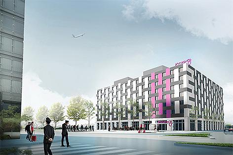 Moxy Hotel Flughafen Wien Schwechat