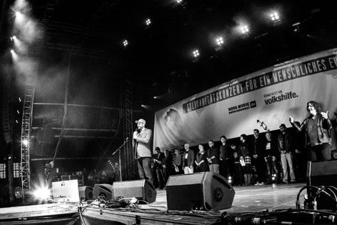 Raoul Haspel Voices for Refugees Heldenplatz