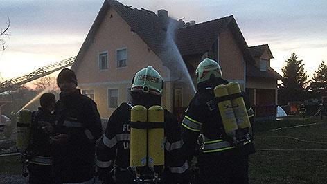Brand in Rudersdorf