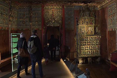 Fürstenzimmer in der Festung Hohensalzburg