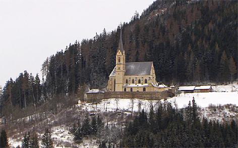 St. Leonhard bei Tamsweg Wallfahrt Wallfahrtskirche