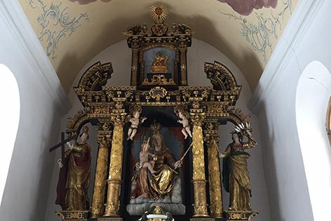 Altar Kirche St. Margarethen